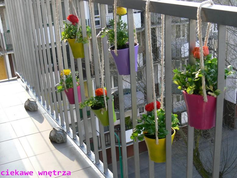 Wiosna Zagościła Na Balkonie Ciekawe Wnętrza