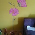 Malowanie na ścianie.